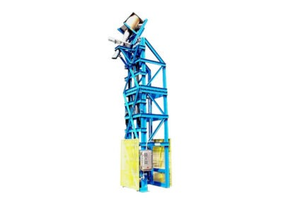 4027-AD Lift & Dump Drum Discharger