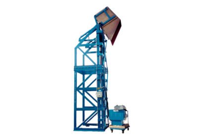 4087-AB Lift & Dump Drum Discharger