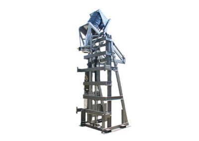 4763-AD Lift & Dump Drum Discharger